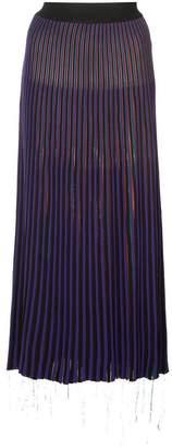 Marni asymmetrical midi skirt