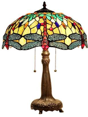 Chloé Lighting Empress 2-Light Table Lamp