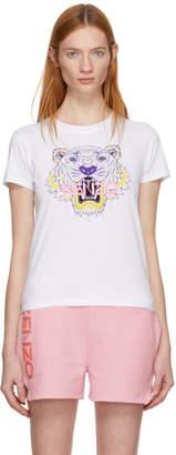 Kenzo White Classic Tiger T-Shirt