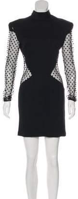 Balmain Mini A-Line Dress