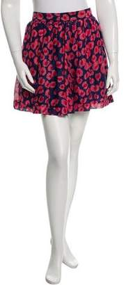Thakoon Patterned Mini Skirt