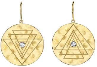 Ark Diamond Creation Disk Earrings