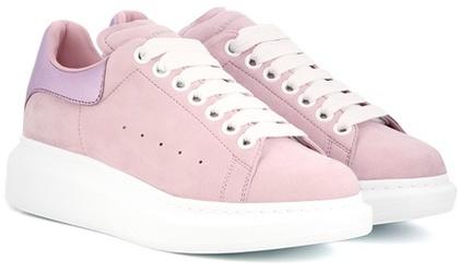 Alexander McQueenAlexander McQueen Suede Platform Sneakers