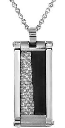 FINE JEWELRY Mens Stainless Steel Pendant