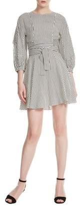 Maje Roxby Stripe Dress