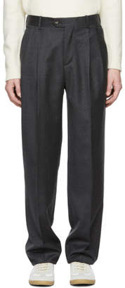 Editions M.R Grey Large High-Waisted Paul Trousers