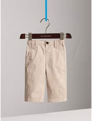 Burberry Childrens Cotton Twill Chinos