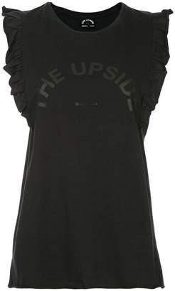 The Upside ruffle hem tank top