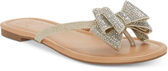 859495cdc INC International Concepts I.n.c. Women Mabae Bow Flat Sandals