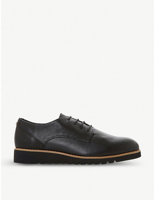 Dune Flinch leather Derby shoes
