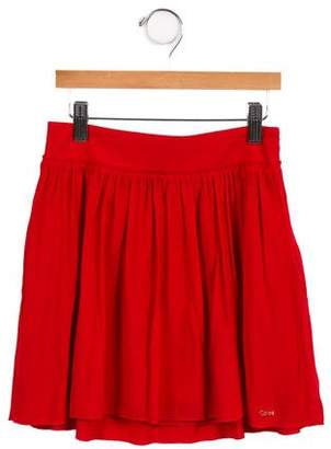Chloé Girls' Logo Embellished Skirt w/ Tags