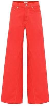 Ganni High-waisted flared jeans