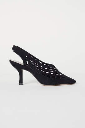 H&M Slingbacks with Heel - Black