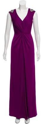 Aidan Mattox Embellished Evening Dress w/ Tags