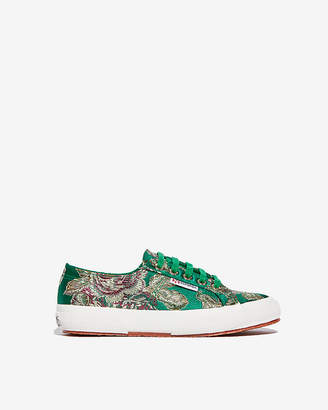 Express Superga Embroidered Sneakers