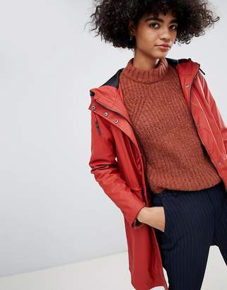 Vero Moda Coated Rain Parker Jacket