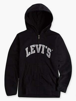 Levi's Little Boys 4-7x Zip Front Hoodie 4