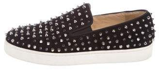 Christian Louboutin Roller Slip-On Sneakers