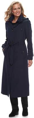 London Fog Tower By Women's TOWER by Belted Trench Coat