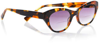 Eyebobs B'Witched Cat-Eye Reader Sunglasses, Tortoise