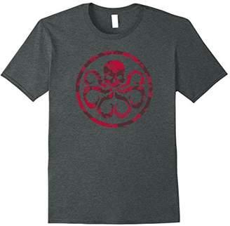 Marvel Hail Hydra Camo Print Graphic T-Shirt C1
