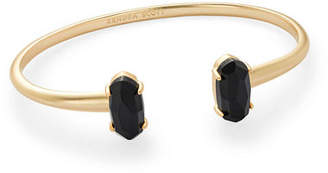 Kendra Scott Edie Two-Stone Bangle Bracelet