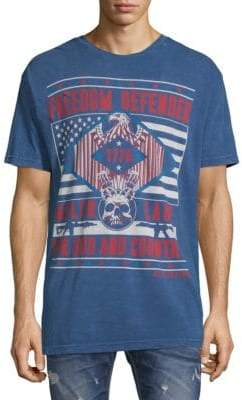 Affliction Iron Eagles Cotton Tee