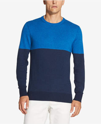 DKNY Men Colorblocked Marled Sweater