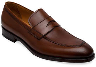 Paul Stuart Men's Lane Leather Penny Loafers