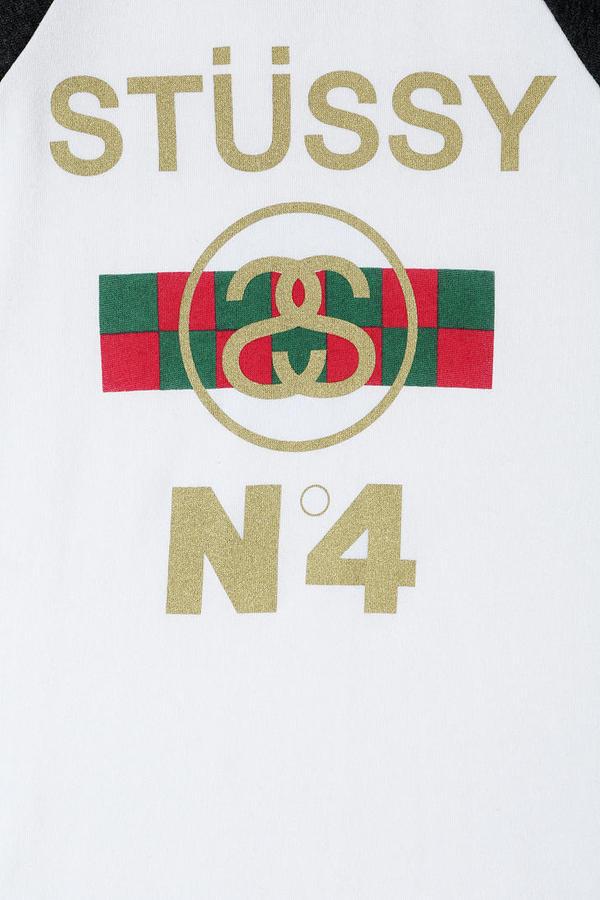 Stussy NO 4 Raglan Sweatshirt