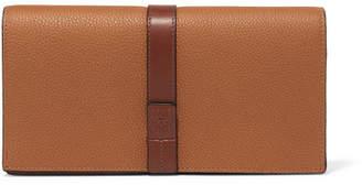 Loewe Textured-leather Shoulder Bag - Tan