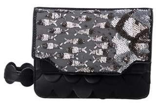 Solea Ioanna Embellished Dragonfly Flap Crossbody Bag