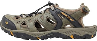 Karrimor Mens Auckland Closed Toe Leather Sandals Brown