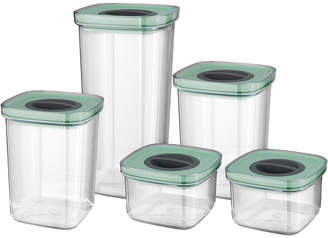 Berghoff Leo Set Of 5 Smart Seal Food Containers