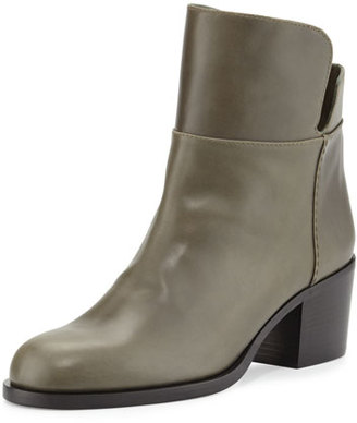 Laurence Dacade Millreef Leather Low Equestrian Boot, Green $750 thestylecure.com