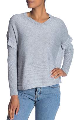 Fate V-Neck Long Sleeve Cashmere Blend Sweater