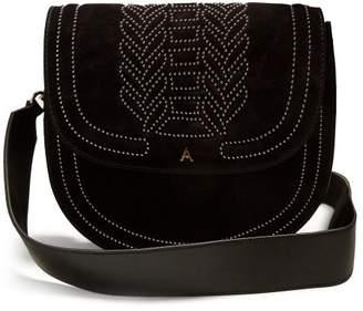 Altuzarra Ghianda Stud Embellished Leather Bag - Womens - Black