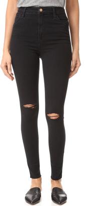 Joe's Jeans Bella High Rise Skinny Jeans $210 thestylecure.com