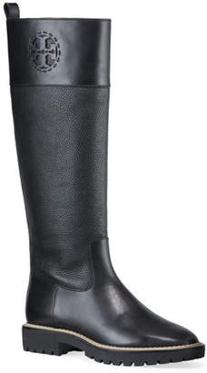 Tory Burch Miller Tall Lug-Sole Boots
