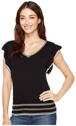 Splendid Short Sleeve Pullover Women's Clothing