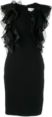 Genny Abito ruffle trim dress