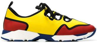 Marni contrast panel sneakers
