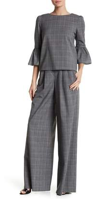 Alice + Olivia Eloise Wide Leg Vrigin Wool Pants