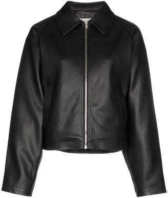 we11done zip-front long-sleeve jacket
