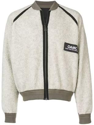 Oamc logo zipped sweatshirt
