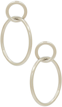Shashi Double Circle Hoop