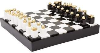 L'OBJET Chess set - Black/White
