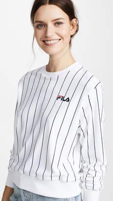 Fila Parker Velour Sweatshirt