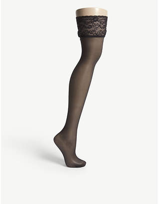 Falke Seidenglatt 15 knitted stockings