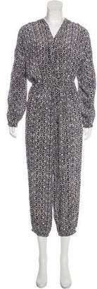 Ulla Johnson Long Sleeve Printed Jumpsuit